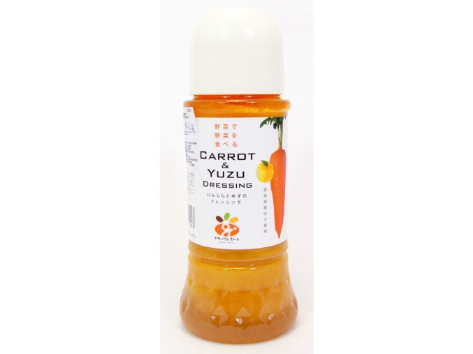 Grazie Mille Carrot & Yuzu Dressing 300ml
