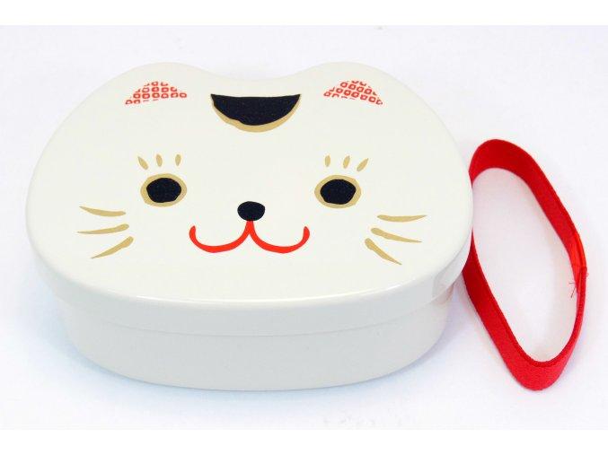 Hakoya Box kočičí hlavička bílá ( 50927 )