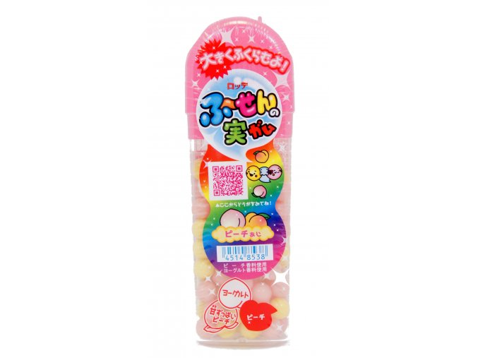 Lotte Fusen no Mi Peach Gum 35g
