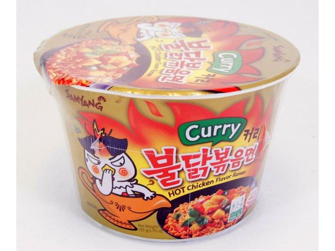 SamYang Curry hot Chicken Bowl 105g - prošlé datum minimální trvanlivosti