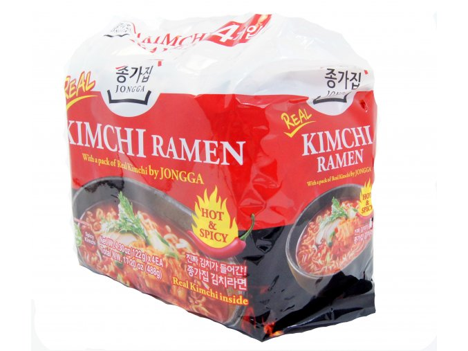 Jongga Kimchi Ramen 4p