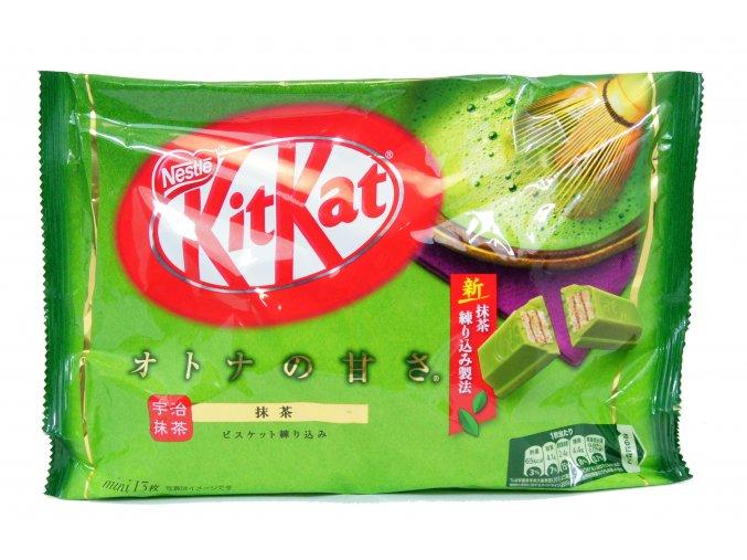 Nestle Kitkat mini Otona  no Amasa Matcha 13p