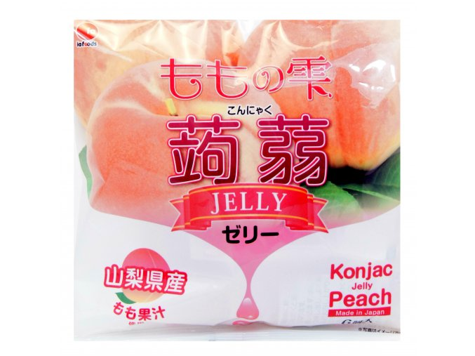 Konjac Jelly Peach