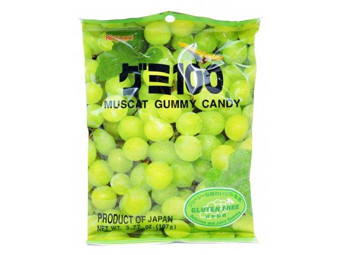 Kasugai Muscat Gummy Candy 107g