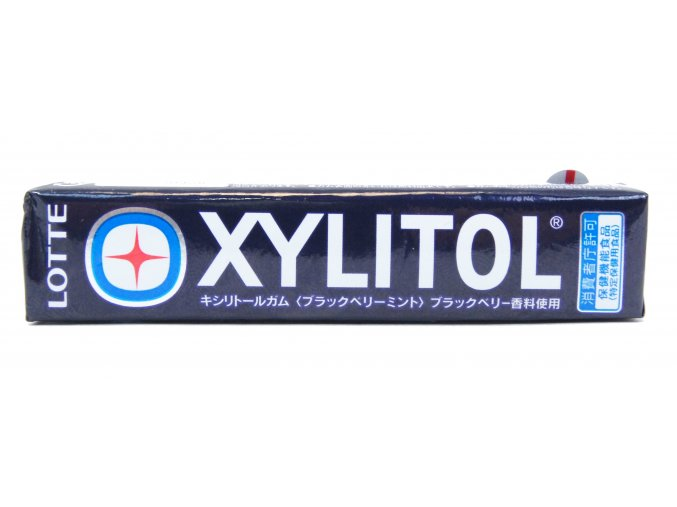 Lotte Xylitol Black Berry Mint 14p