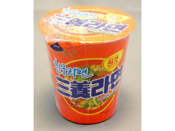 SamYang Cup Ramen Original 65g - prošlé datum minimální trvanlivosti