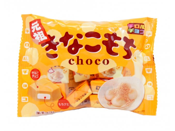Tirol Kinako Choco mochi