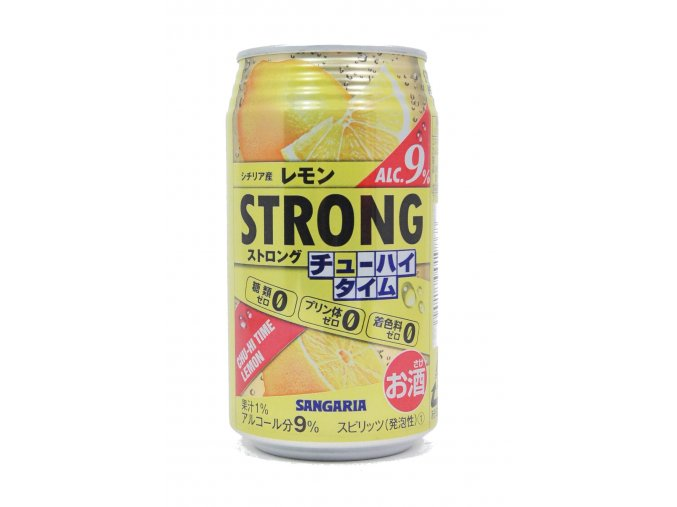 Sangaria Strong Lemon alkohol 9%
