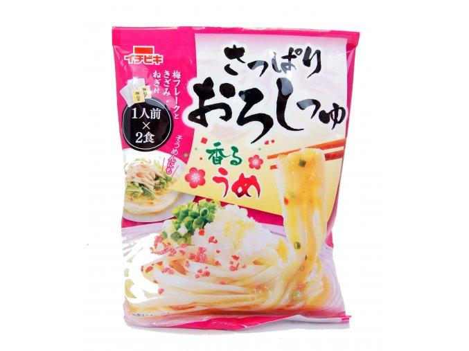 Sappari Oroshi Tsuyu ume sauce