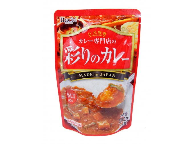 Hachi Curry Meat Free Hot 200g