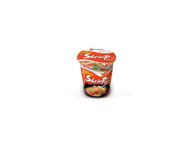 Nong Shim Shrimp Noodle cup mini 67g