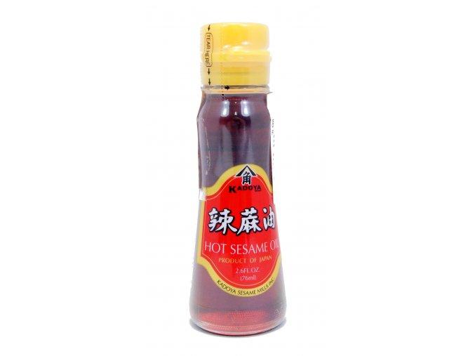 Kadoya Chili Sesame Oil sezamový olej s chili 76ml