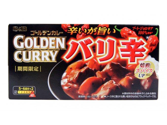 S&B Golden Curry Bari Cara extra hot 198g