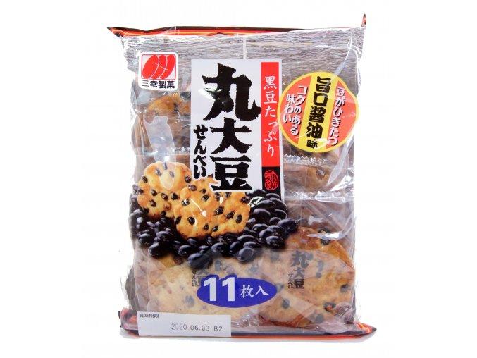 Sanko Seika Krekry s černou fazolí