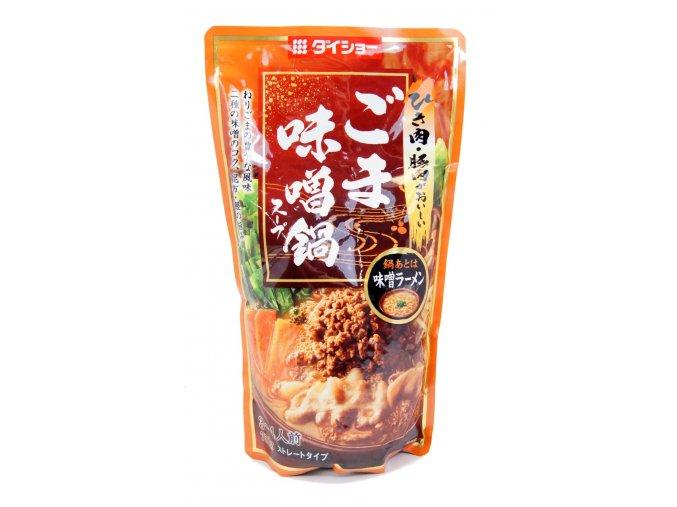 Daisho Goma Miso Nabe Soup 750g