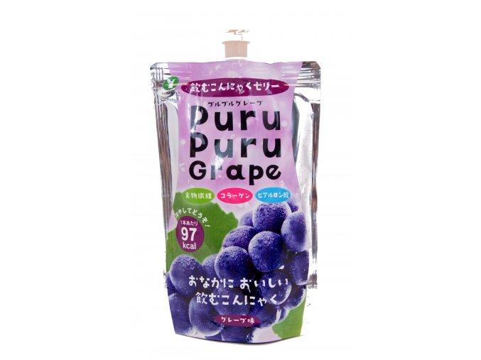 Yamakichi Konnyaku Jelly Purupuru Grape 130g