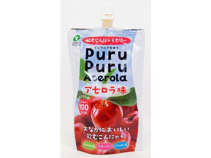 Yamakichi Konnyaku Jelly Purupuru Acerola 130g