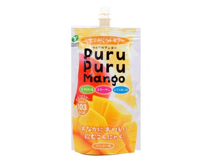Yamakichi Konnyaku Jelly Purupuru Mango 130g