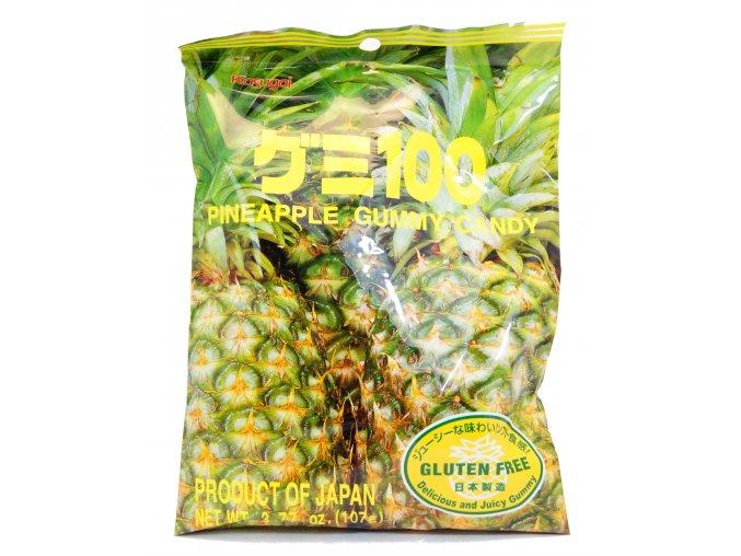 Kasugai Pineapple Gummy 107g