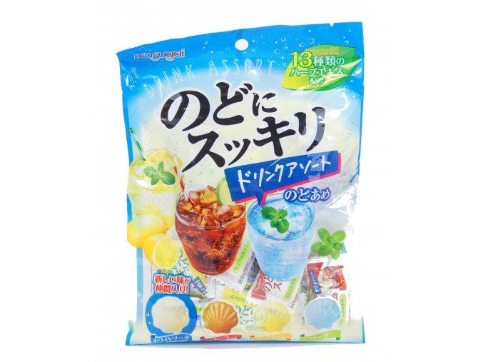 Kasugai Nodo ni Sukkiri Drink Assort  110g