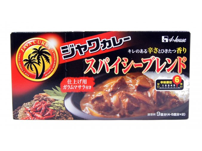 House Java Curry Spicy Blend 207g