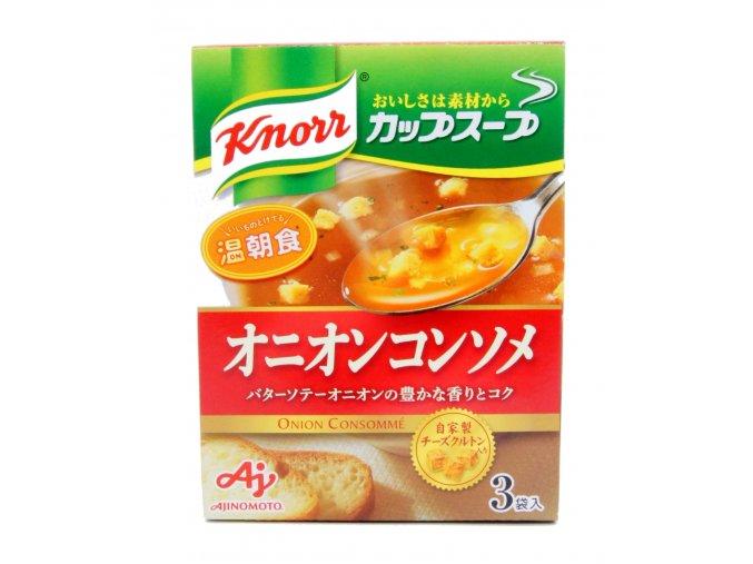 Knorr Cup Soup Onion Consommé 34,5g - prošlé datum minimální trvanlivosti