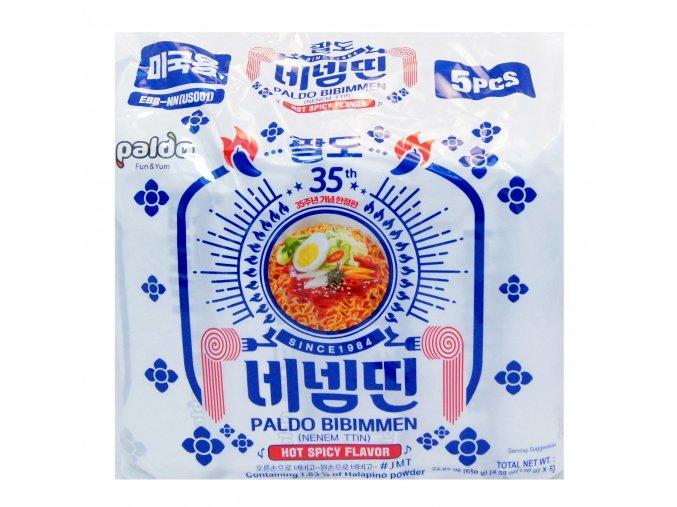 Paldo Bibimmen Hot Spicy Flavor 5p