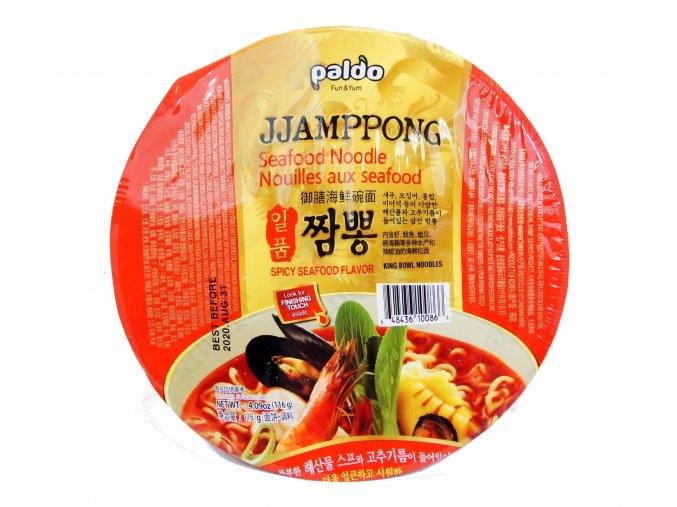 Paldo Jjamppong Seafood Noodle 116g