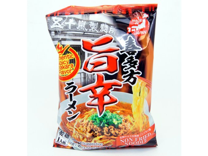 Igarashi Seimen Kitakata Spicy Umakara Ramen 1p