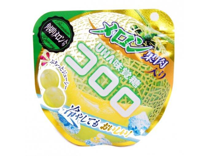 UHA Mikakuto Kororo Melon Gummy 40g