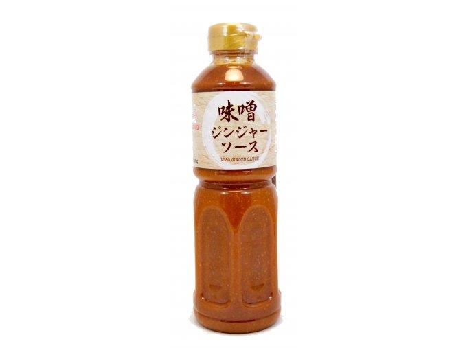 Kenko Miso Ginger Sauce 500ml - prošlé datum minimální trvanlivosti