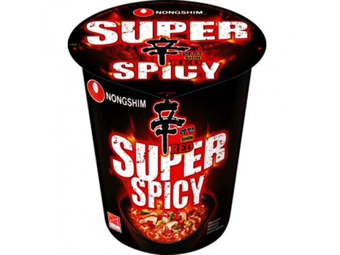 nongshim shin red ramyun super spicy 68g 1