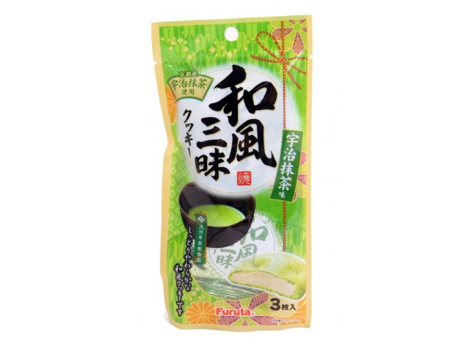 Furuta Wafu Zanmai Matcha Cooki 3p