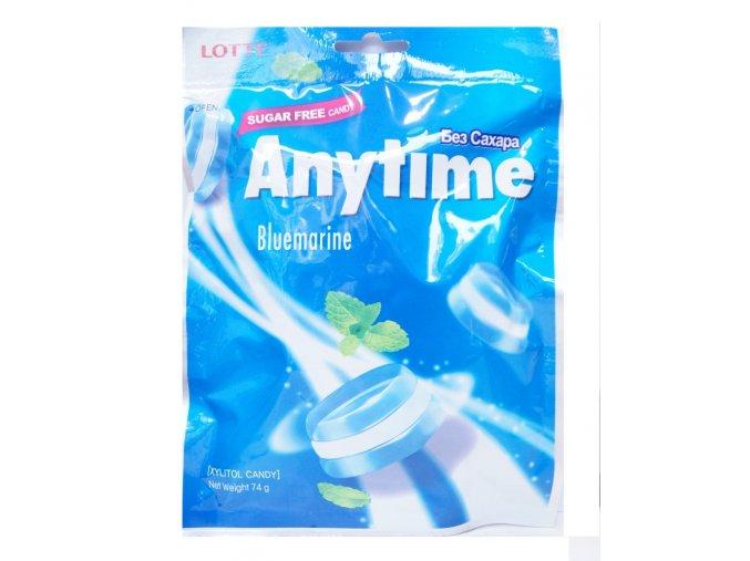 Lotte Xylitol Anytime  Bluemarine 74g