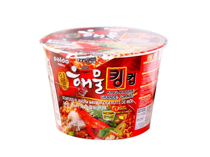 Paldo Seafood Big Cup Spicy 110g