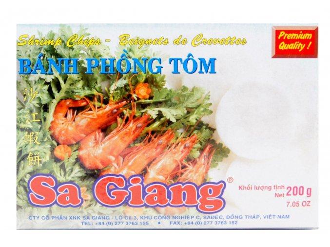 Banh Phong Tom Sa Giang Shrimp Chips 200g - prošlé datum minimální trvanlivosti