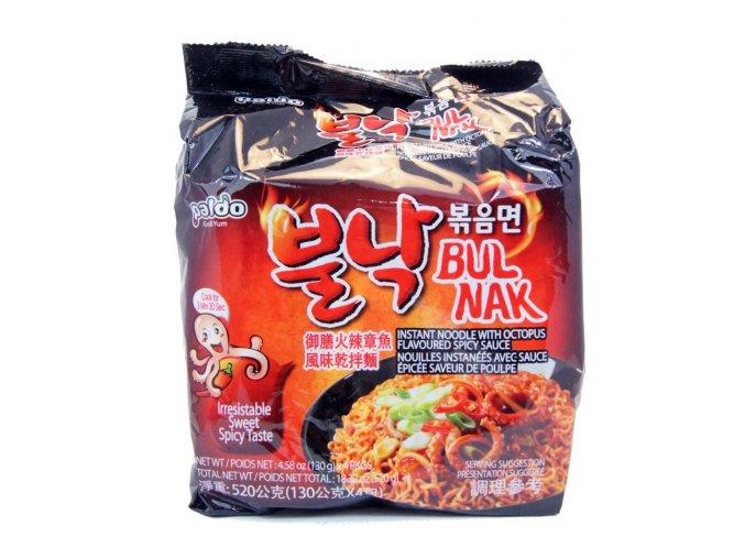Paldo BulNak Pan Stir Fried Noodle 4p
