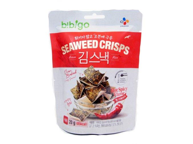 Bibigo Seaweed Crisps Spicy Flavor 20g