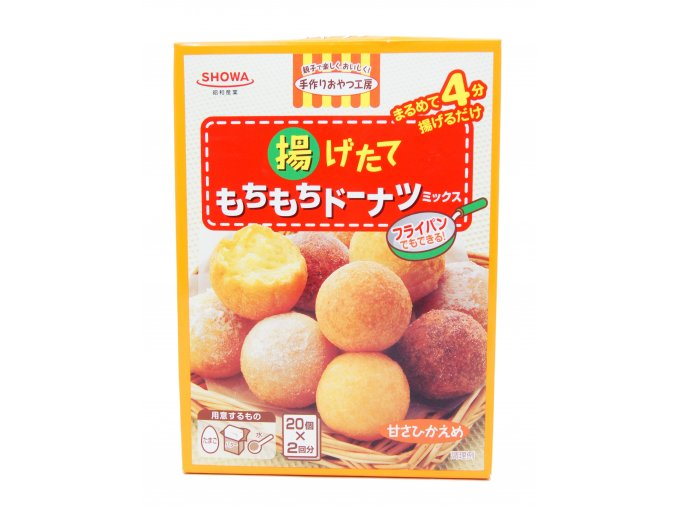 Showa Donuts Mix 220g - prošlé datum minimální trvanlivosti