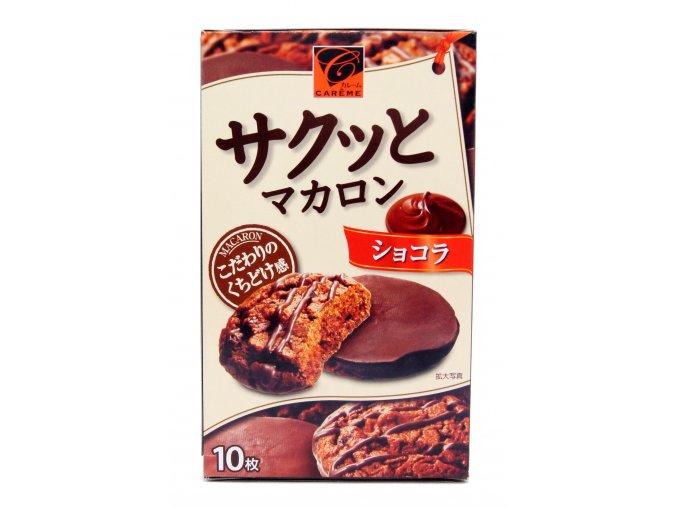 Kabaya Macaron Choco cokie 10p - prošlé datum minimální trvanlivosti