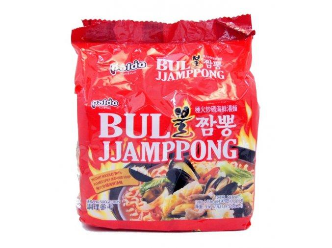 Paldo Bul Jjamppong Seafood Ramen 4p