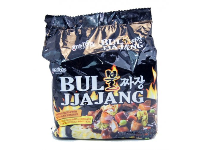 Paldo Bul Jjajang spicy black bean sauce 4p