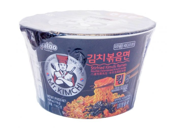 Mr. Kimchi Stir Fried King Cup 116g
