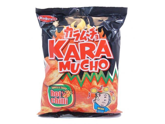 Koikeya Kara Mucho Chilli Chips 60g