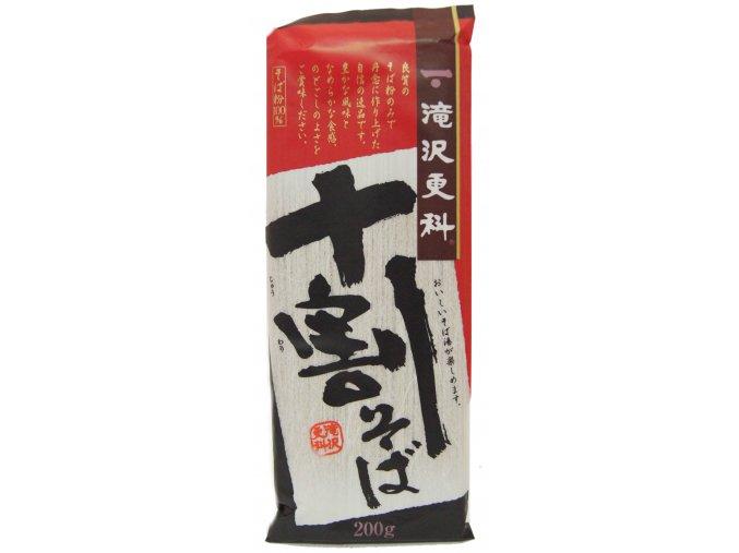 Takizawa Sarashina Jyuwari Soba 200g - prošlé datum minimální trvanlivosti