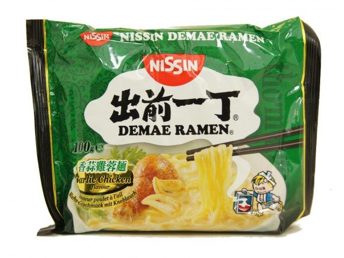 Nissin Demae Ramen Chicken and Garlic Flavour 100g