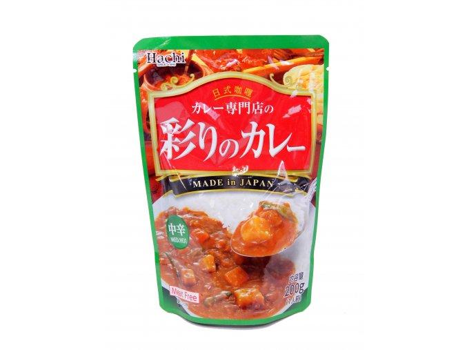 Hachi Curry Meat Free Mediu Hot 200g - prošlé datum minimální trvanlivosti