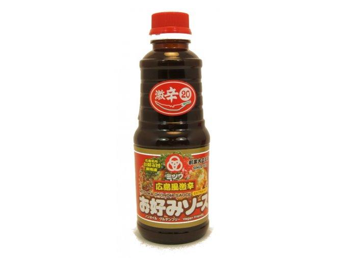 Mitsuwa Okonomi Sauce Extra Hot 420g