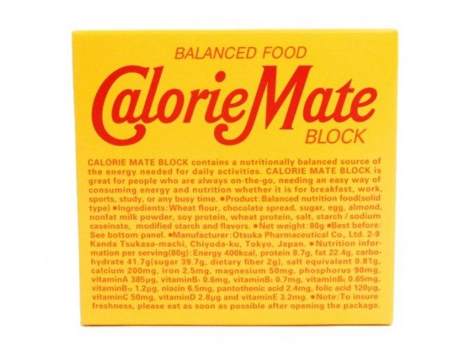 Otsuka Calorie Mate Block 80g - prošlé datum minimální trvanlivosti