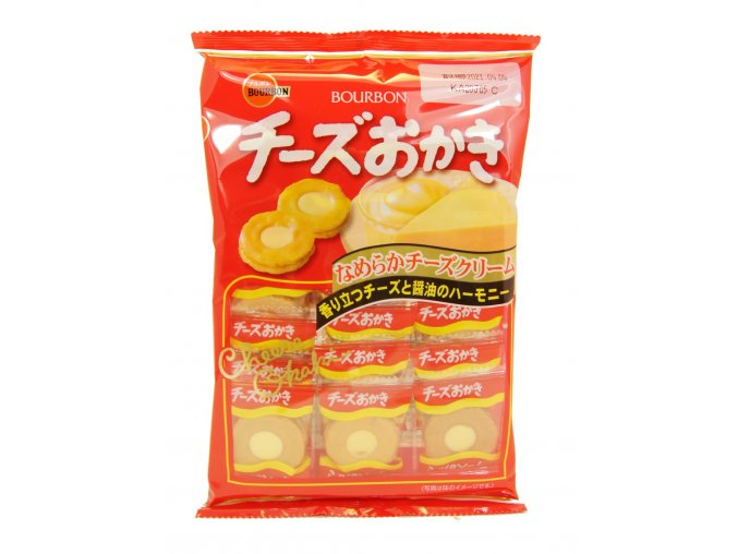 Bourbon Cheese Okaki 82g